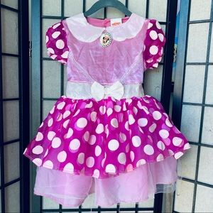 Disney Minnie Mouse Toddler costume sz 3T-4T